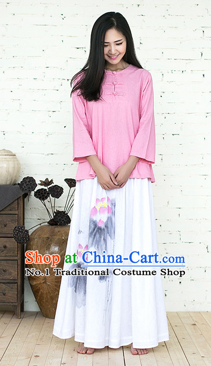 204c4f571b Oriental Clothing Asian Fashion Chinese Traditional Clothing Shopping  online Clothes China online Shop Mandarin Dress Complete Set for Women