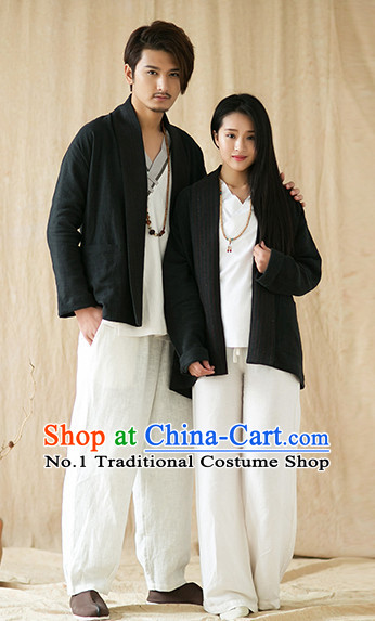 Chinese Traditional Mandarin Clothes for Women or Men