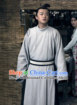 Traditional Chinese Male Costumes Ancient Costume Long Robe