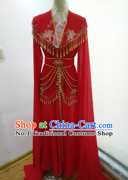 Traditional Chinese Long Sleeves Suit for Women