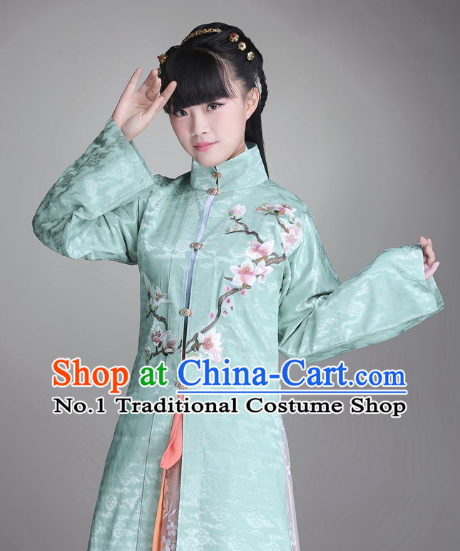 Ancient Chinese Song Dynasty Attire Complete Set for Girls