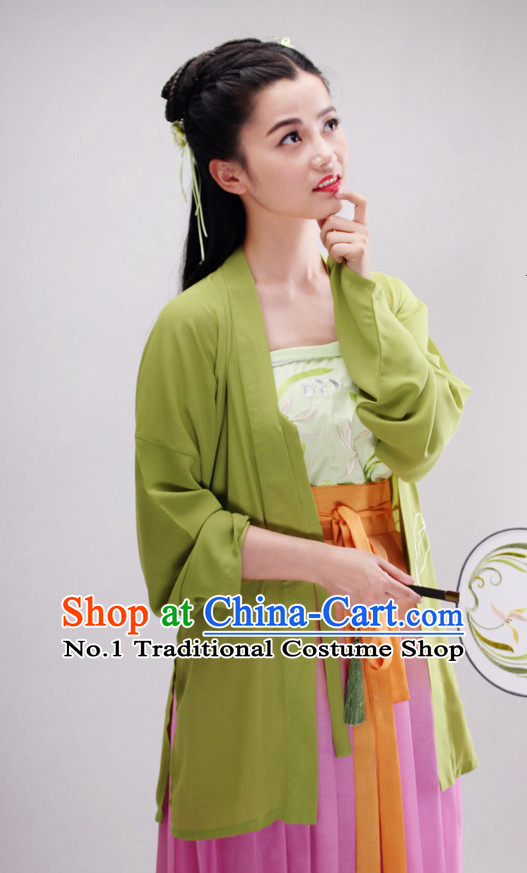 Ancient Chinese Oriental Dress Complete Set for Women