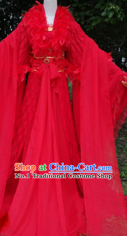 Traditional Chinese Noblewoman Attire Complete Set for Women