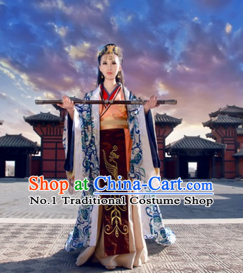 China Palace Princess Clothes and Hair Accessories Complete Set for Women