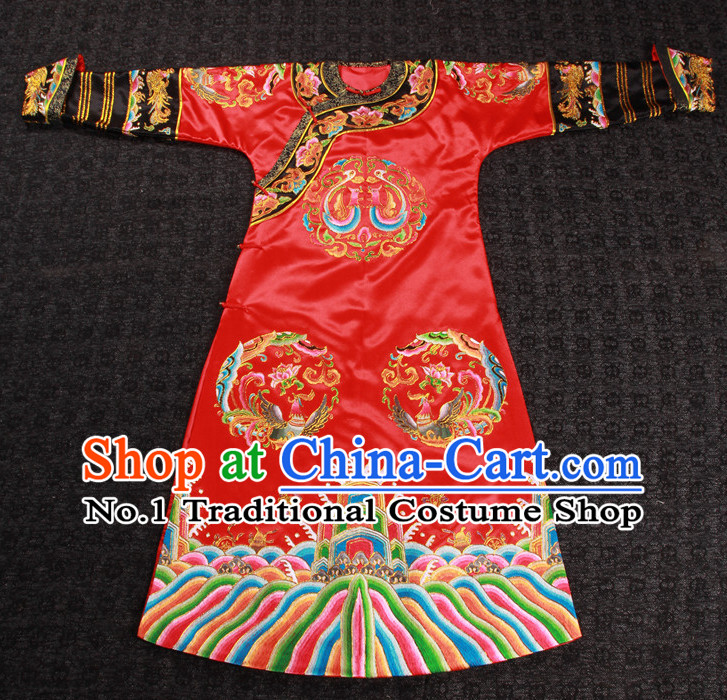 Traditional Chinese Ancient Imperial Palace Royal Wedding Dresses