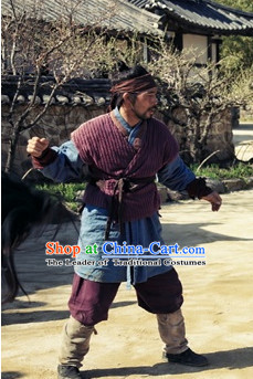 Ancient Korean Civilian Male Clothing