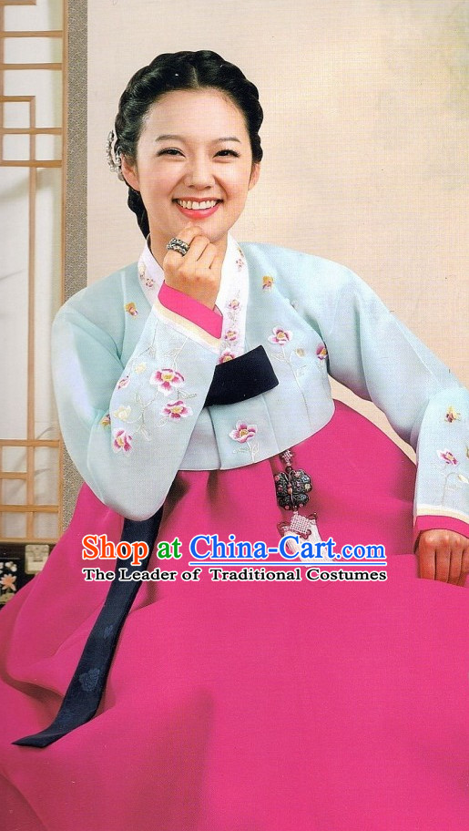 Made to Order Korean Traditional Clothing Hanbok for Ladies