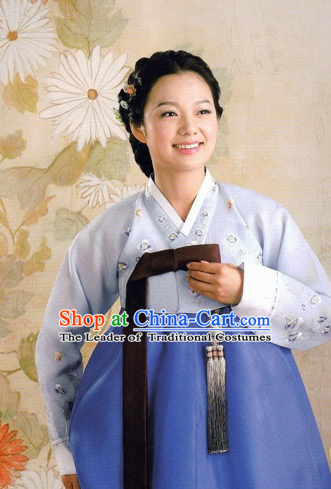 Tailor Made Korean Traditional Clothing Hanbok for Ladies