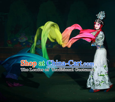 Chinese Opera Costumes and Hair Accessories Complete Set for Ladies