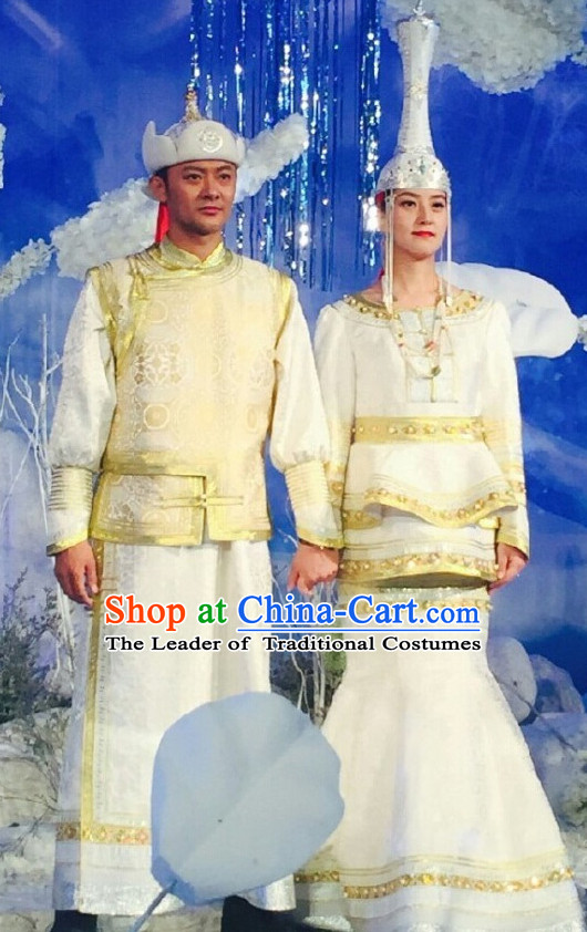 b0e3058991e Mongolian Traditional Wedding Dresses and Hats for Men and Women.jpg