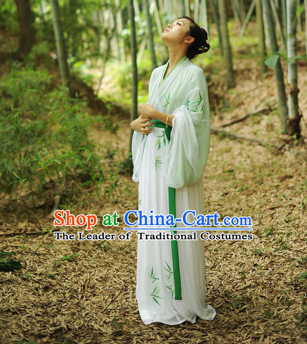 Ancient Traditional Chinese Hanfu Clothing for Women