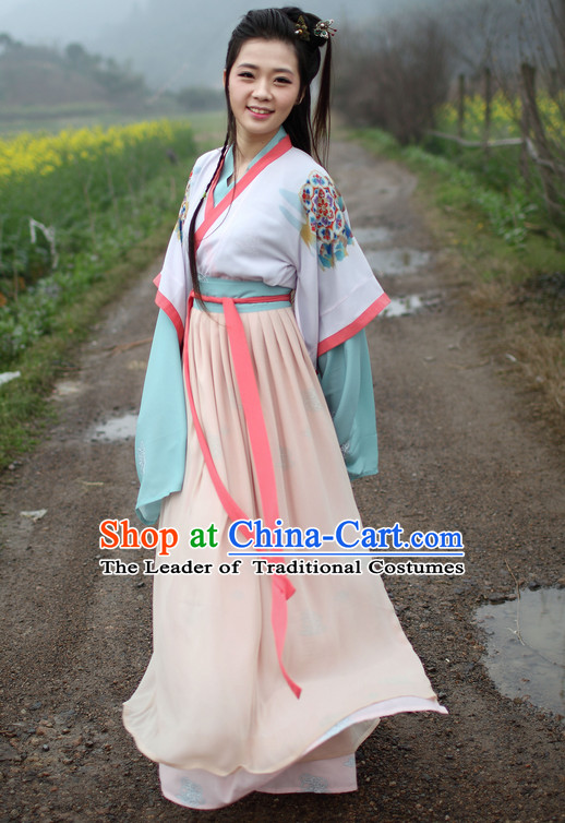 Chinese Hanfu Beauty Halloween Costumes Plus Size Costume online