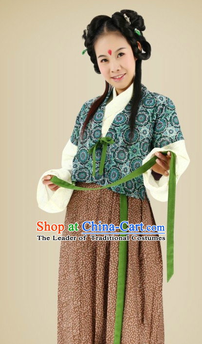 Ancient Asian Hanfu Halloween Costume Plus Size Costumes online Shopping