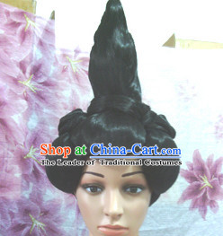 Chinese Classic Lady Hair extensions Wigs Fascinators Toupee Hair Pieces Long Wigs