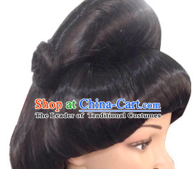 Chinese Traditional Wigs Hair Extensions Lace Front Wig Hair Pieces for Women