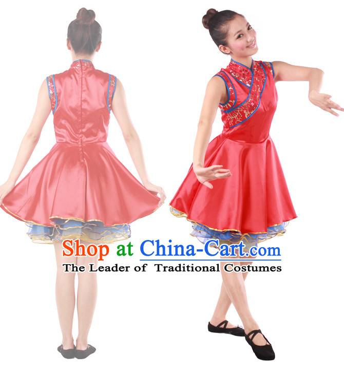 Chinese Teenagers Han Dance Costume for Competition