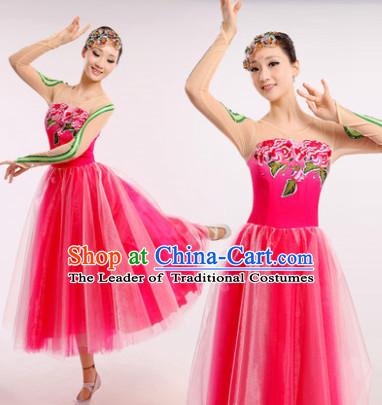 ee49f3d8b Chinese Fan Dance Costume Dancewear Discount Dane Supply Clubwear ...