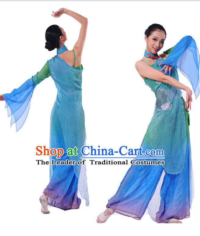 Chinese Folk Classical Dancing Costume Dancewear Discount Dane Supply Dance Wear China Wholesale Dance Clothes