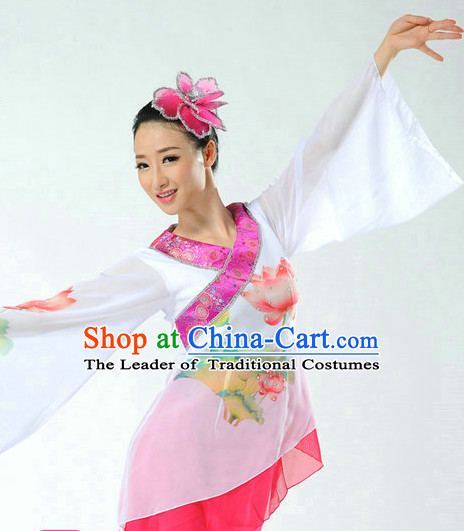Chinese Classical Dance Costume Complete Set