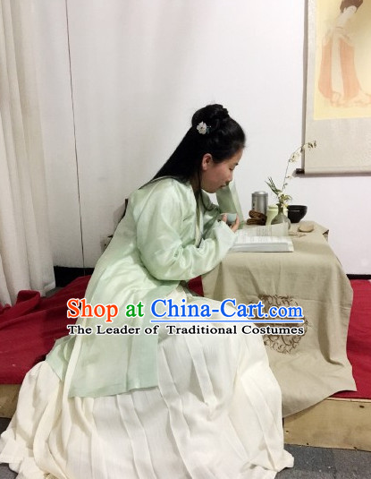 Chinese hanfu costume for girls