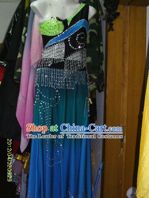Top Chinese Classical Dance Costume Competition Dance Costumes Set