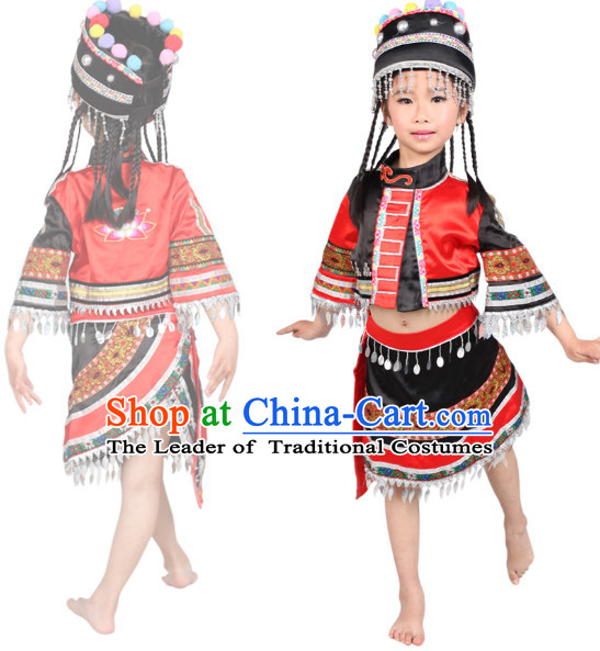sc 1 st  China-Cart & Chinese Folk Ethnic Dance Costume Competition Dance Costumes for Kids