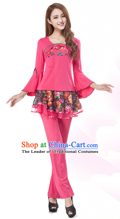Chinese Style Modern Dance Costume Discount Dance Gymnastics Leotards Costume Ideas Dancewear Supply Dance Wear Dance Clothes Suit
