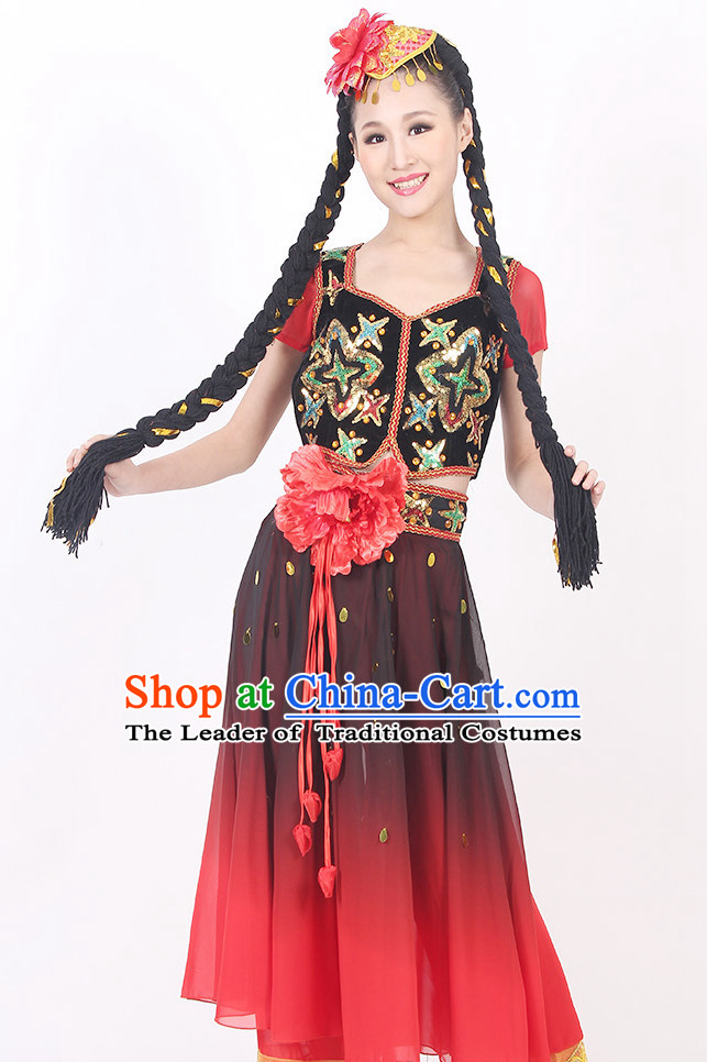 fef5e58b9921d China Xinjiang Style Dance Costume Ideas Dancewear Supply Dance Wear Dance  Clothes Suit