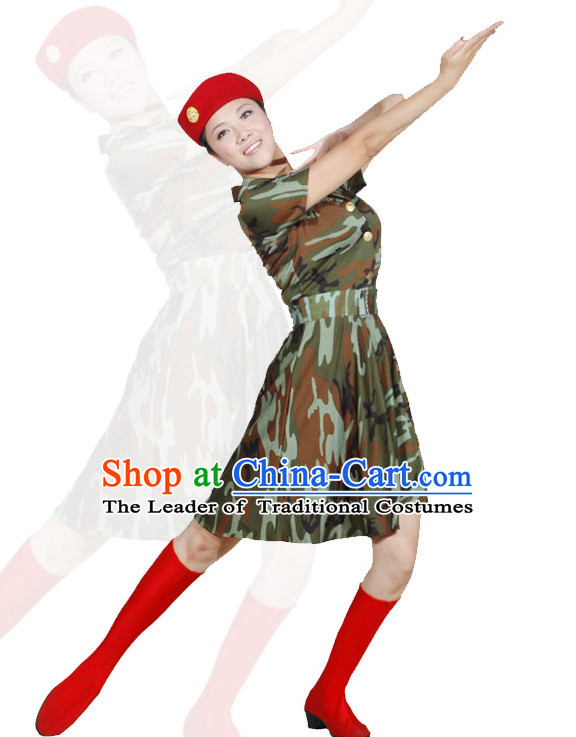 China Army Dance Costume Ideas Dancewear Supply Dance Wear Dance Clothes Suit