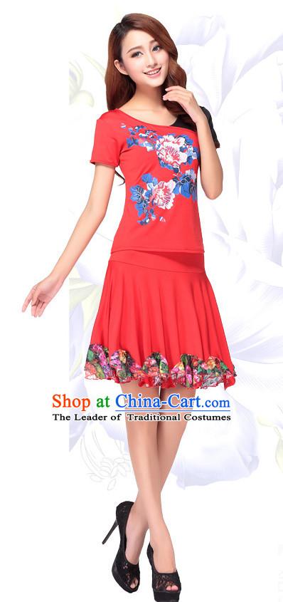 513e67e8098d Chinese Style Modern Parade Costume Ideas Dancewear Supply Dance Wear Dance  Clothes Suit