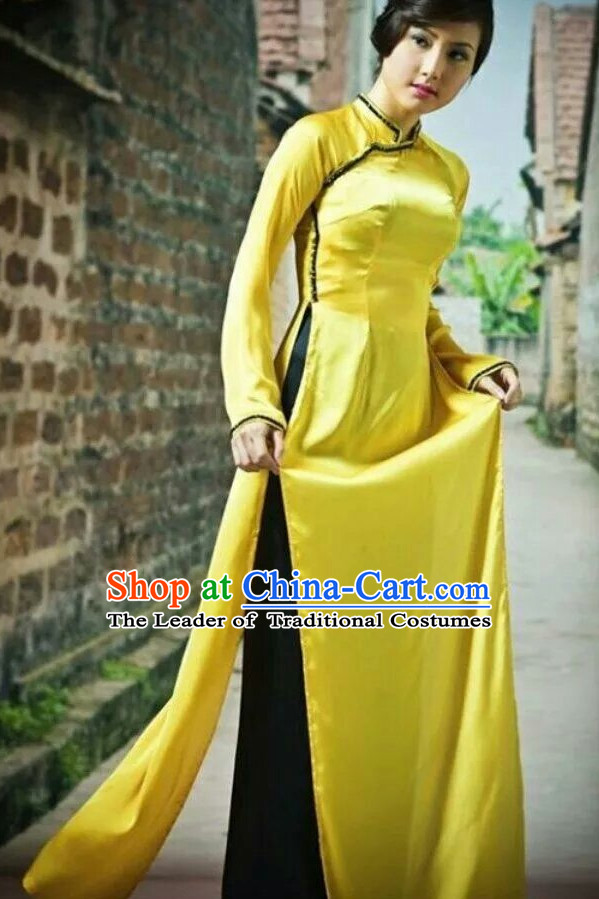 Yellow Viet Outfit for Women