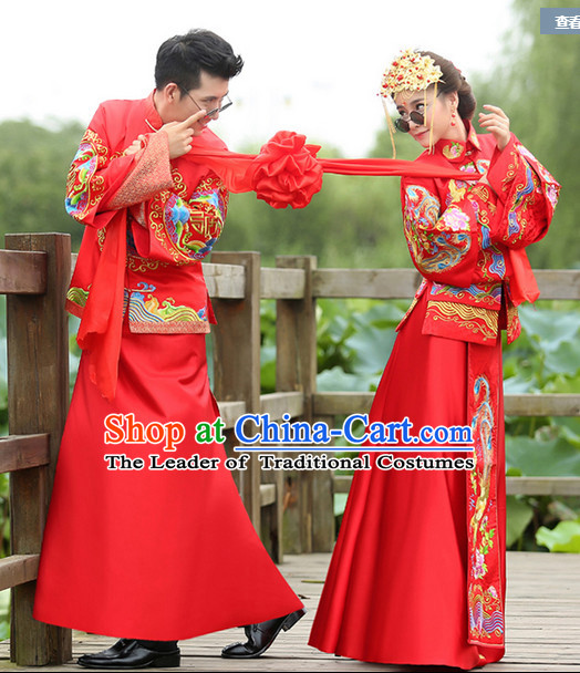 Top China Wedding Dresses for Men and Women