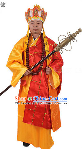 Monk Tang Seng Costume and Hat