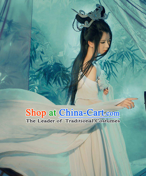 Xiao Qian Ghost Fairy Costume Complete Set