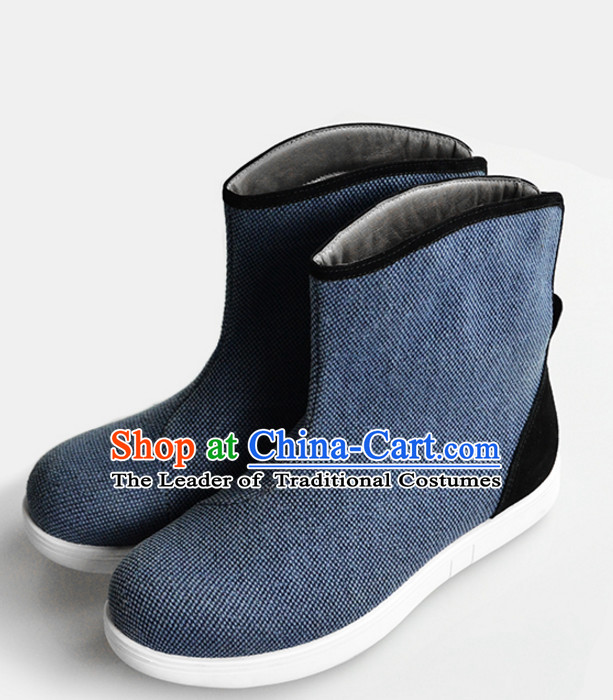 Handmade Traditional Chinese Ancient Style Official Boots