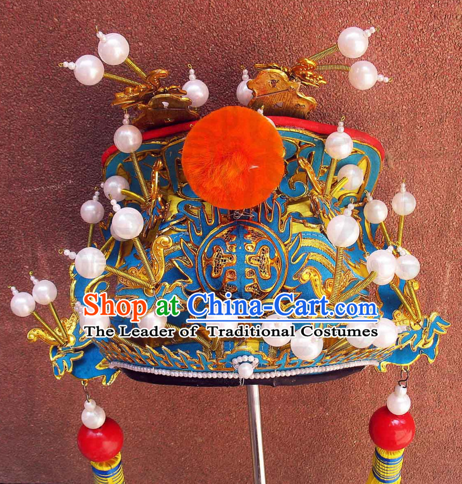 Traditional Chinese Classica Opera Hat for Men