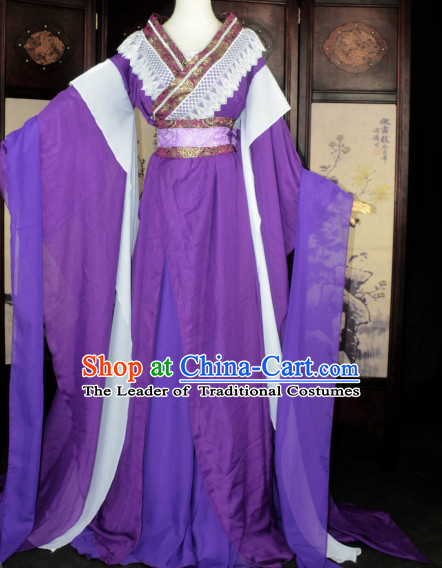 Ancient Chinese Classical Royal Princess Costume Complete Set for Women or Girls