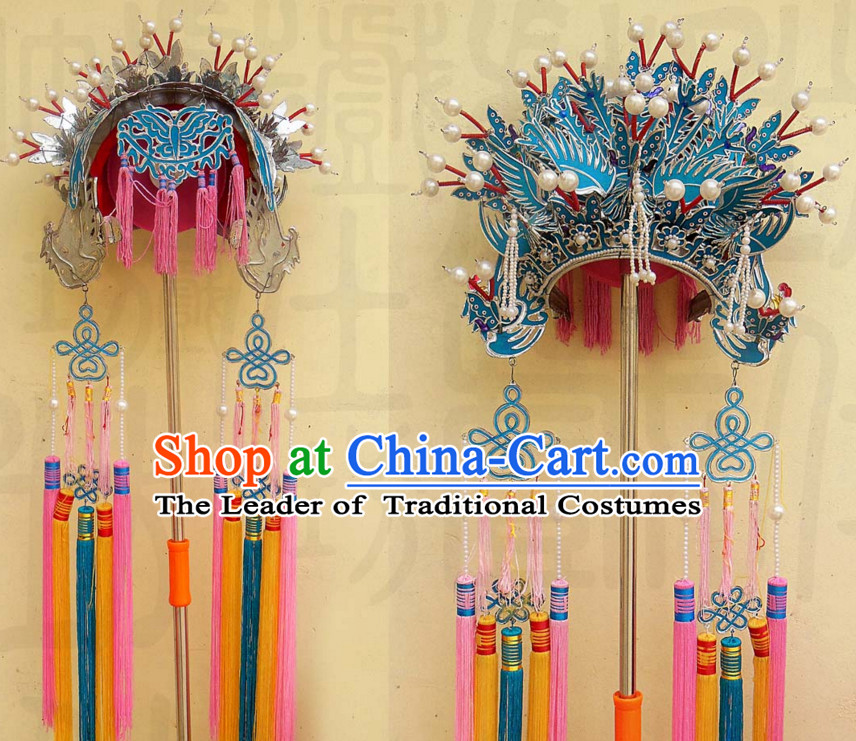 Traditional Chinese Classica Phoenix Opera Hat Crown Coronet for Women
