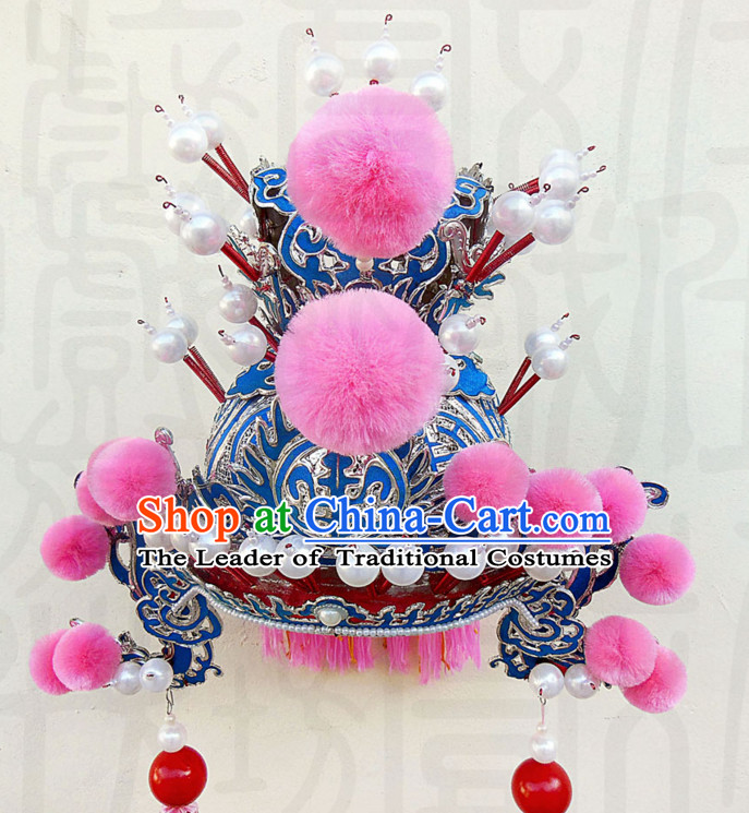 Traditional Chinese Classica Prince Opera Hat Crown Coronet for Men