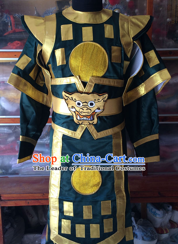 Ancient Chinese Opera General Costumes Complete Set for Men