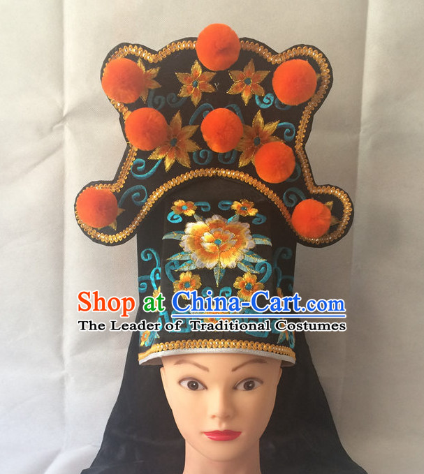 Traditional Chinese Classica Embroidered General Hat