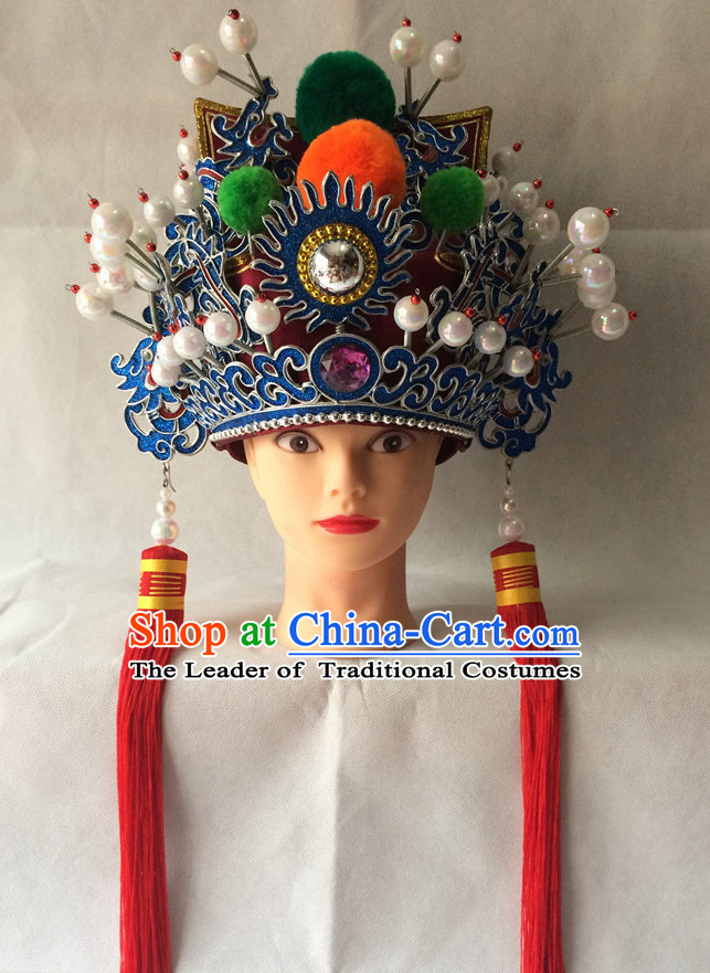 Traditional Chinese Classica Embroidered Nobleman Hat