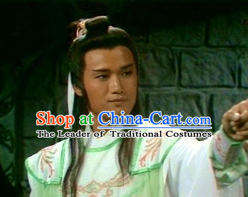 Chinese Ancient Style Male Long Wigs