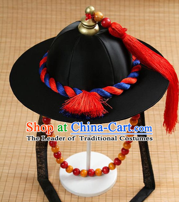 Handmade Ancient Korean Scholar Hat Headpieces for Men