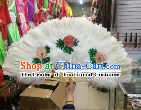 Korean Classical Handmade Dance Fan Dancing Fans