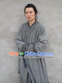 Chinese Ancient Wise Clothes Complete Set for Men