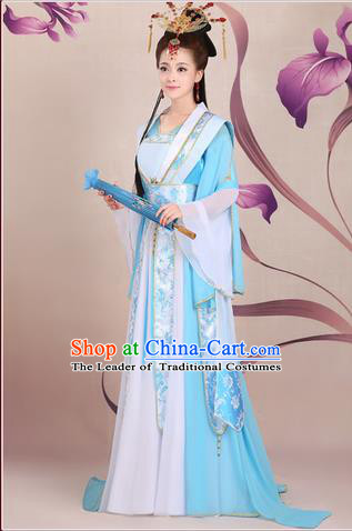 Ancient Chinese Palace Empress Costumes Complete Set, Tang Dynasty Ancient Palace Fairy Princess, Dress Suits For Women