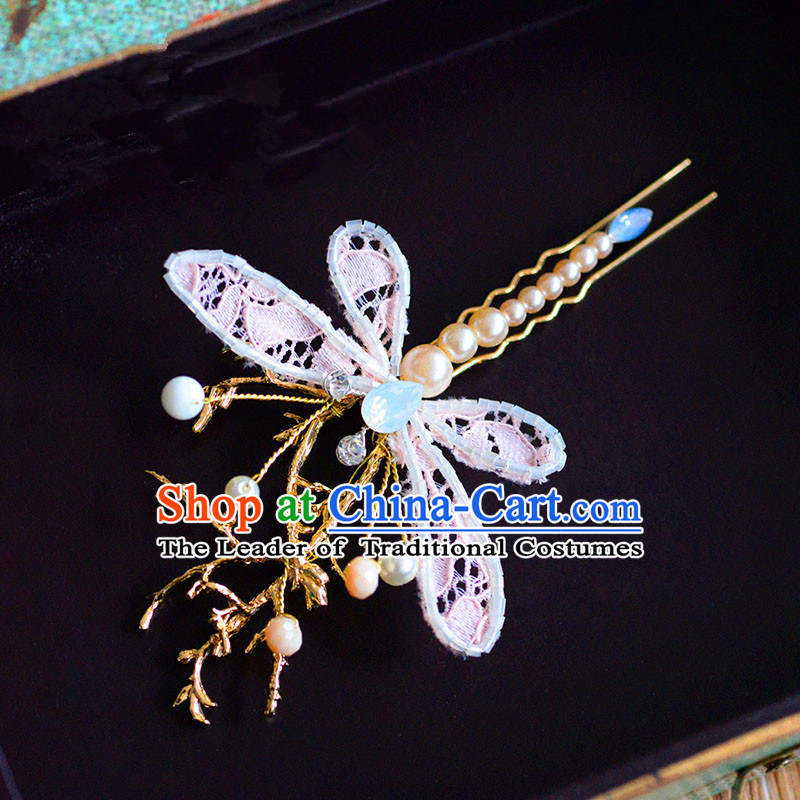 Traditional Jewelry Accessories, Princess Bride Wedding Hair Accessories, Baroco Style Dragonfly Headwear for Women