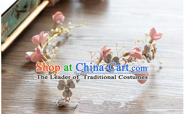 Traditional Jewelry Accessories, Princess Wedding Hair Accessories, Bride Wedding Hair Accessories, Baroco Style Flowers Headwear for Women