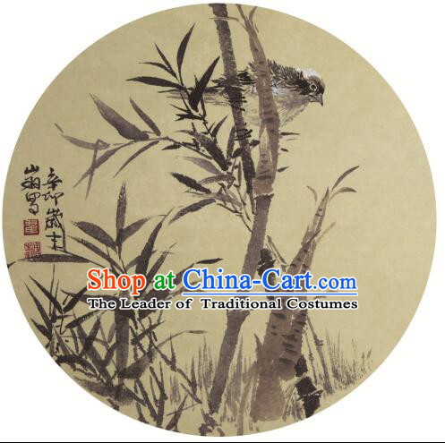 Chinese Painting Umbrella Handmade Oiled Paper Umbrella Parasol Sunshade Top Quality Dancing Bamboo